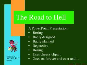 Road To Hell Art